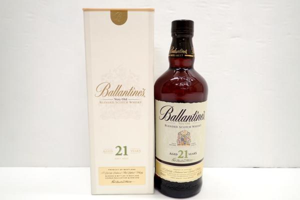BALLANTINE'Sバランタイン 21年 スコッチ ウイスキー買取はお任せ下さい!