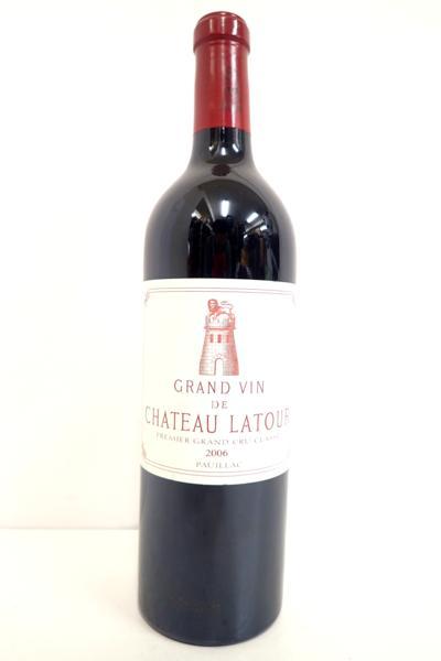 シャトー・ラトゥール 2006年 高価買取いたしました! ワイン買取はストックラボにお任せ下さい!