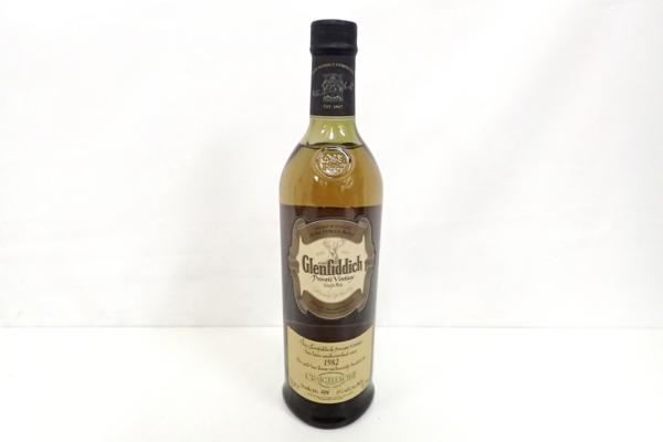 Glenfiddichグレンフィディック 1982年 高価買取いたしました! ウイスキーの買取はストックラボにお任せ下さい!