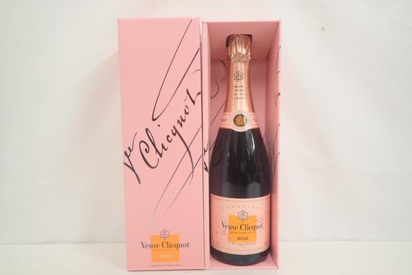 ヴーヴ・クリコ ローズ・ラベル 750ml  シャンパン 高価買取いたしました!お酒買取はストックラボへ