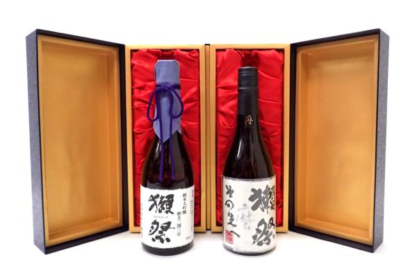 獺祭 磨き その先へ&二割三分セット 福岡県にお住いのお客様より高価買取いたしました!