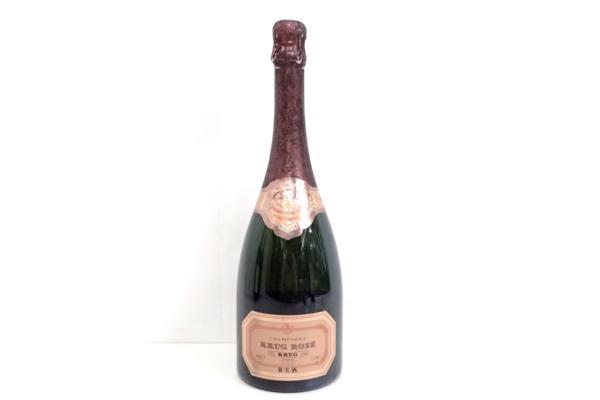 クリュッグ ロゼ 旧ボトル(ラベル) 高価買取いたしました! シャンパン買取はストックラボにお任せ下さい。