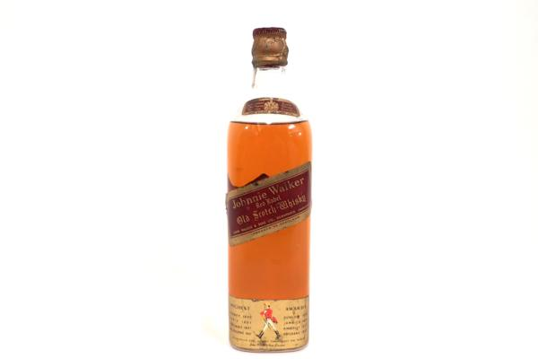 ジョニーウォーカー レッドラベル 旧ボトル 700ml 埼玉県大宮市にお住いのお客様より店頭買取にて高価買取いたしました!