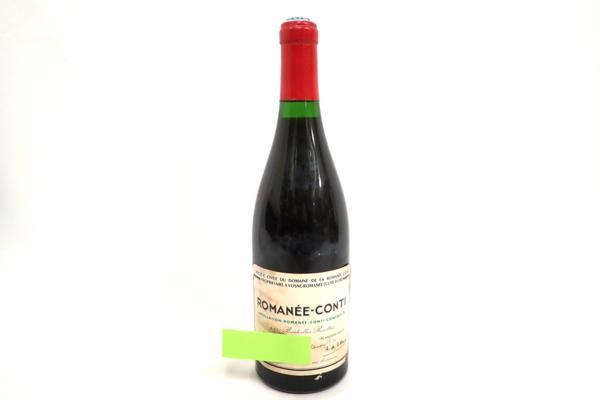DRC ロマネコンティ 1973年 高価買取いたしました!ワインの買取はストックラボにお任せ下さい!