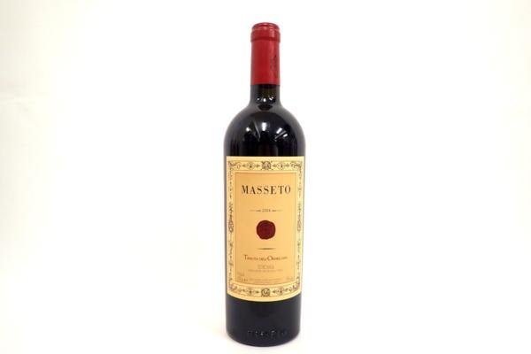 テヌータ・デル・オルネッライア・マッセート2004年 ワインを北海道札幌市のお客様より高価買取いたしました!