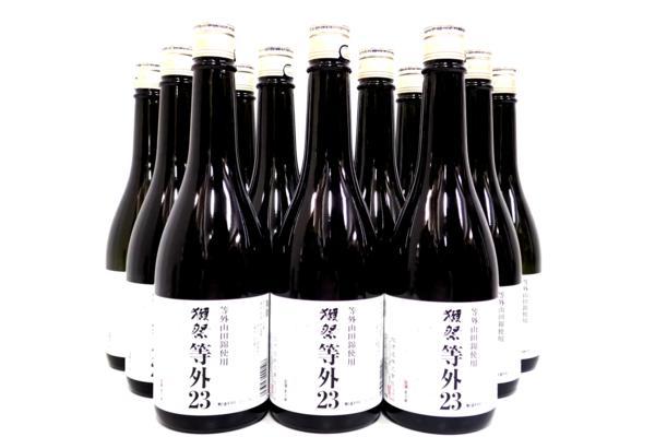 獺祭23 等外山田錦使用 2016年製造 高知県以お住いのお客様より高価買取致しました!