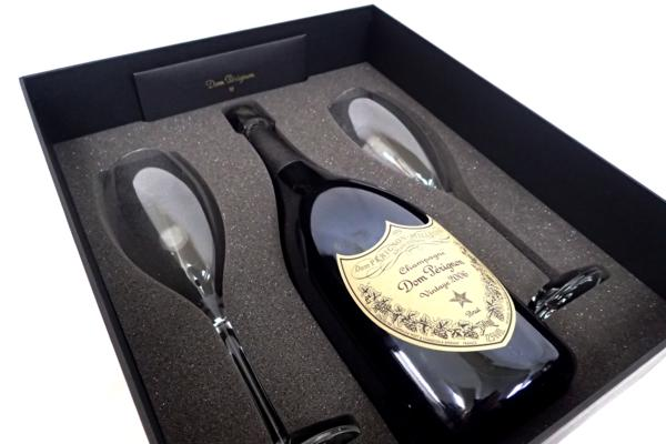 ドンペリニヨン 白 2006年 フリュートグラス 出張買取にて神奈川県川崎市のお客様よりお売りいただきました!