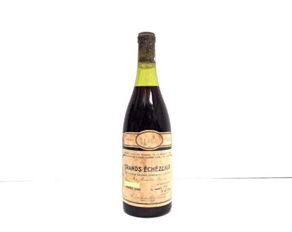 DRC グランエシェゾー 店頭買取で高価買取いたしました! ワインの買取はストックラボにお任せ下さい!