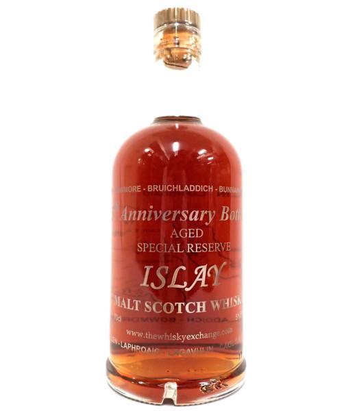 アイラ エイジド The Whisky Exchange 5周年記念ボトル 東京都目黒区のお客様より高価買取いたしました!