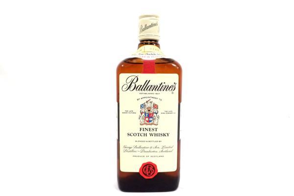 Ballantine's FINEST バランタイン ファイネスト 赤青旗 店頭買取にて東京都練馬区のお客様より高価買取いたしました!